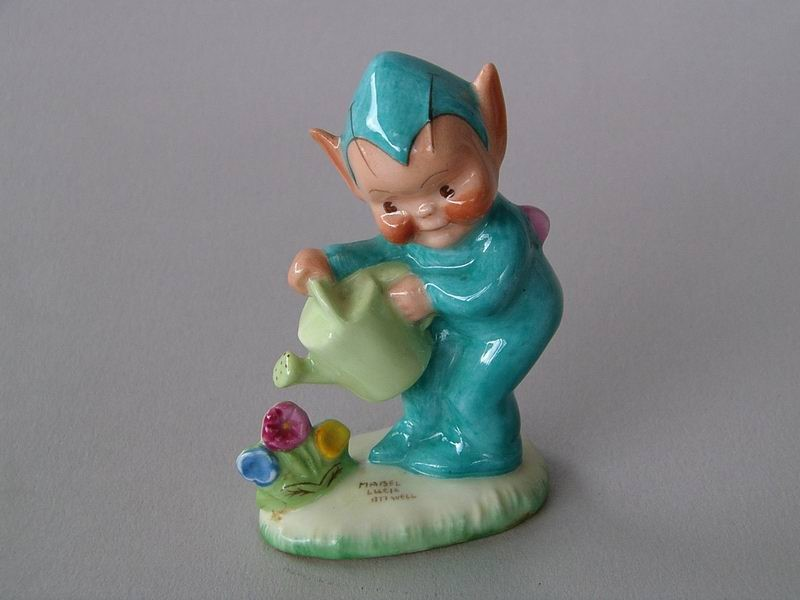 Mabel Lucie Attwell Pixie figurine