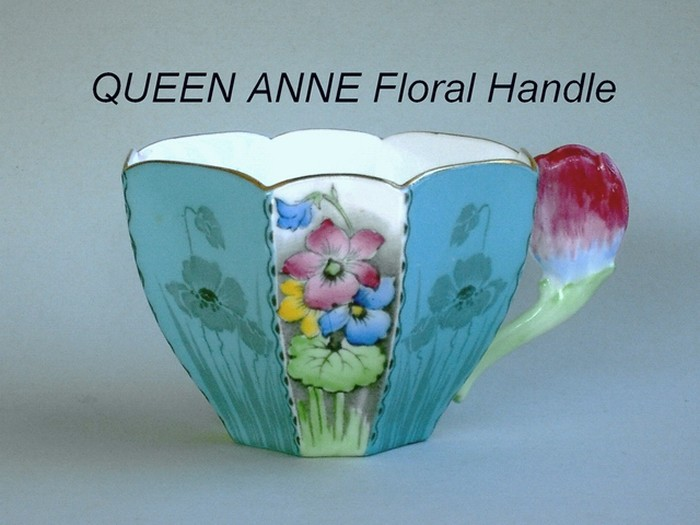 QUEEN ANNE Floral Handle
