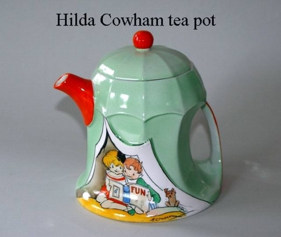 Hilda Cowham tea pot