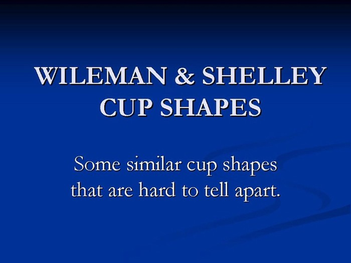 Title card - Cup shapes hard to tell apart