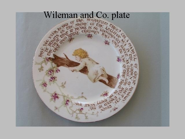 Wileman and Co. plate
