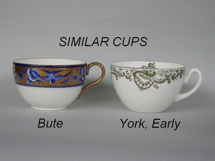 Similar cup shapes - Bute / York, Early