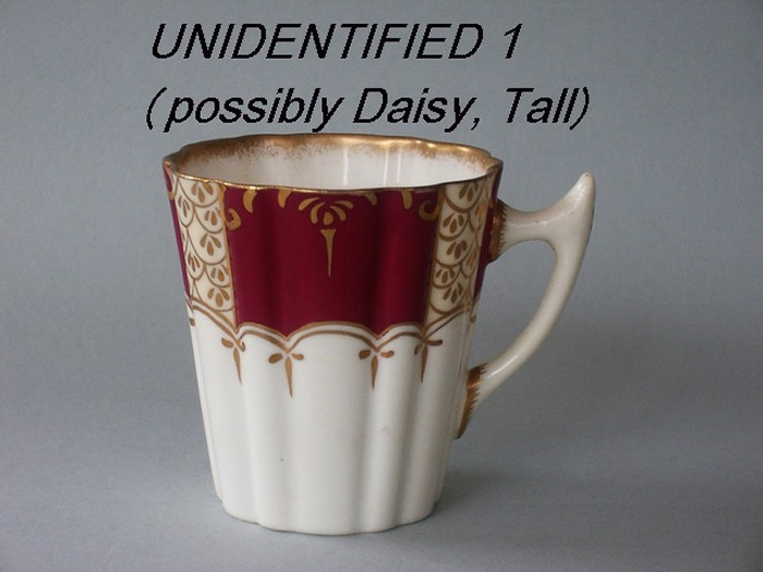 Unidentified cup shape 1 (possibly Daisy, Tall)