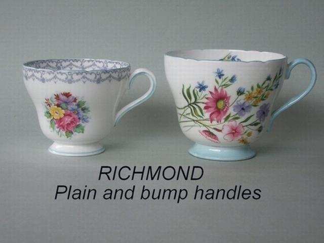 RICHMOND Plain and bump handles