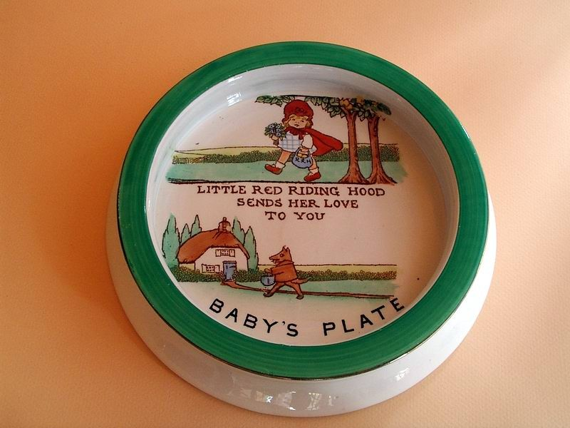 Little Red Riding Hood Baby's Plate