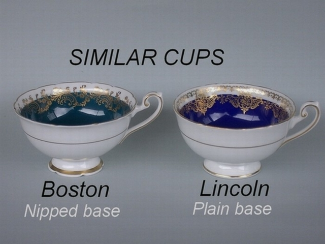 Similar cup shapes - Boston / Lincoln