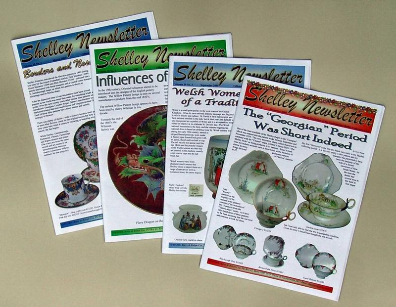 Four issues of the Shelley Newsletter Vol 19 2005