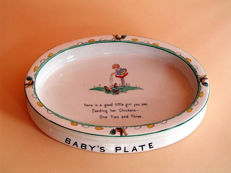 Hilda Cowham Baby's Plate
