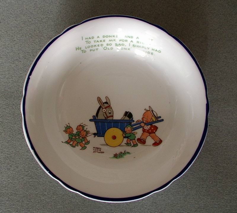 Mabel Lucie Attwell Donkey bowl