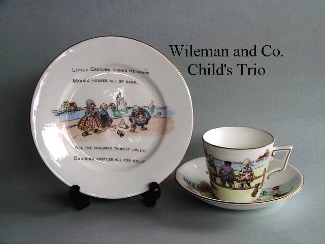 Wileman and Co. Child's Trio
