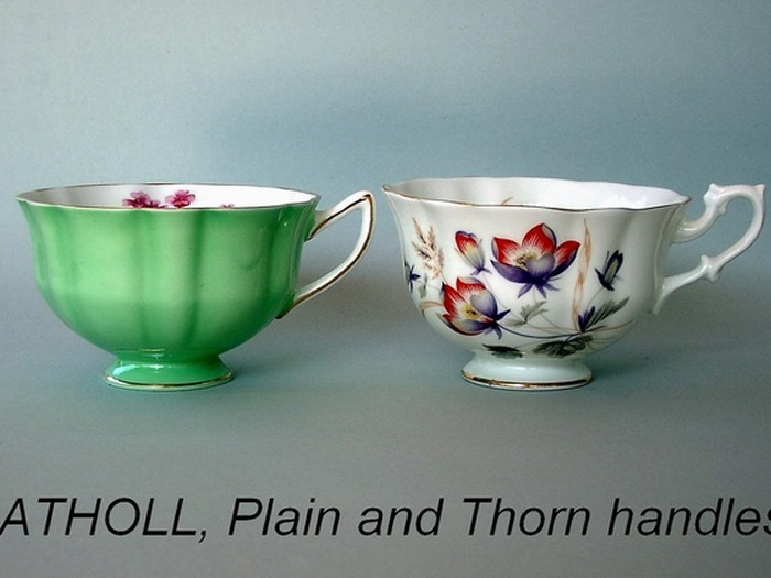 ATHOLL, Plain and Thorn handles