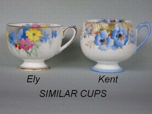 Similar cup shapes - Ely / Kent