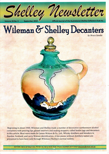 Cover of Shelley Newsletter Volume 33 No. 3 September 2019