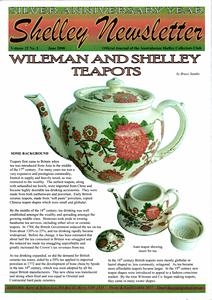 Cover of Shelley Newsletter Volume 22 No. 2 June 2008