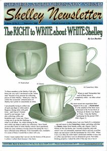 Cover of Shelley Newsletter Volume 22 No. 3 September 2008