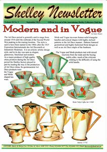 Cover of Shelley Newsletter Volume 24 No. 3 September 2010