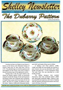 Cover of Shelley Newsletter Volume 25 No. 3 September 2011
