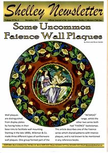 Cover of Shelley Newsletter Volume 25 No. 4 December 2011