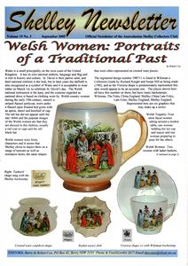 Cover of Shelley Newsletter Volume 19 No. 3 September 2005.