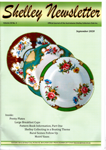 Cover of Shelley Newsletter Volume 34 No. 3 September 2020