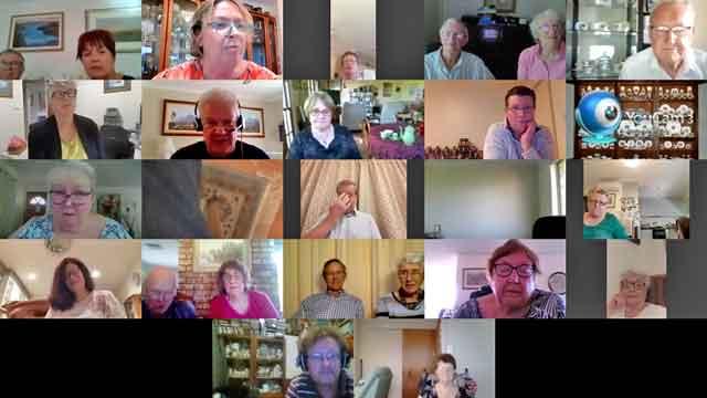 Online meeting November 2020