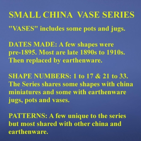 Introduction to Small China Vase Series