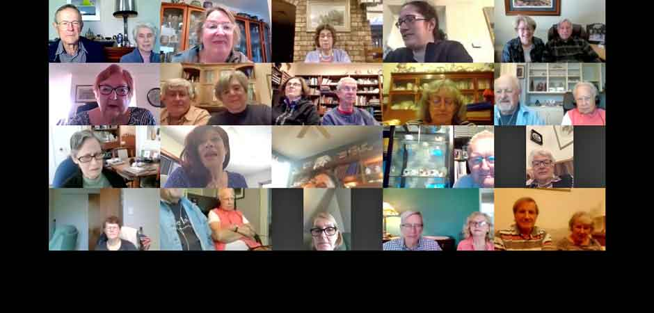 Scene from 10 April 2021 online meeting